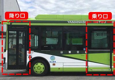 山梨 バスの乗り方
